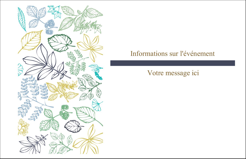 """8½"""" x 11"""" Cartes Et Articles D'Artisanat Imprimables - Feuillage pastel"""