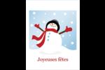Frosty le bonhomme de neige Cartes Et Articles D'Artisanat Imprimables - gabarit prédéfini. <br/>Utilisez notre logiciel Avery Design & Print Online pour personnaliser facilement la conception.