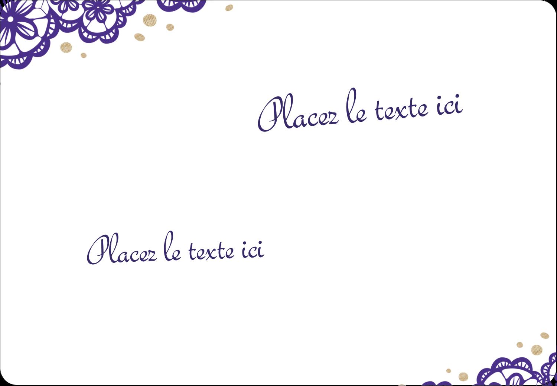 Mariage en dentelle violette Étiquettes Pour Médias - gabarit prédéfini. <br/>Utilisez notre logiciel Avery Design & Print Online pour personnaliser facilement la conception.