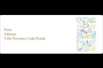 Feuillage pastel Étiquettes d'adresse - gabarit prédéfini. <br/>Utilisez notre logiciel Avery Design & Print Online pour personnaliser facilement la conception.