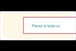 Lignes jaunes Étiquettes Voyantes - gabarit prédéfini. <br/>Utilisez notre logiciel Avery Design & Print Online pour personnaliser facilement la conception.