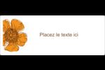 Illustrations florales Étiquettes Voyantes - gabarit prédéfini. <br/>Utilisez notre logiciel Avery Design & Print Online pour personnaliser facilement la conception.