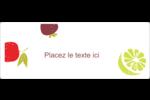 Fruits rétro Étiquettes D'Identification - gabarit prédéfini. <br/>Utilisez notre logiciel Avery Design & Print Online pour personnaliser facilement la conception.
