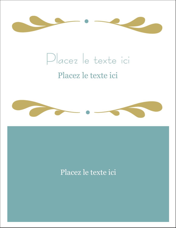 """2"""" x 3½"""" Cartes Pour Le Bureau - Filigrane"""