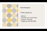 Cercles urbains jaunes Cartes Pour Le Bureau - gabarit prédéfini. <br/>Utilisez notre logiciel Avery Design & Print Online pour personnaliser facilement la conception.