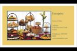 Pain et dessert Cartes Pour Le Bureau - gabarit prédéfini. <br/>Utilisez notre logiciel Avery Design & Print Online pour personnaliser facilement la conception.