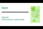 Trèfle à quatre feuilles Étiquettes Pour Copieurs - gabarit prédéfini. <br/>Utilisez notre logiciel Avery Design & Print Online pour personnaliser facilement la conception.