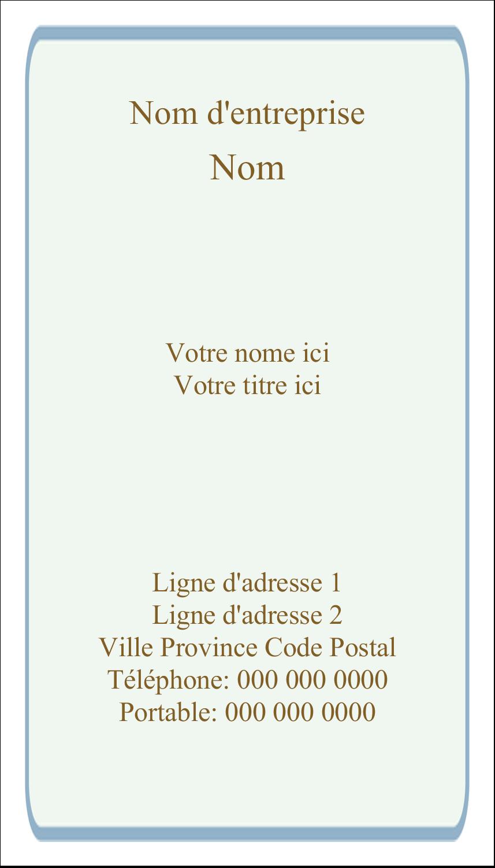 """4¼"""" x 5½"""" Carte de note - Feuillage pastel"""