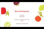 Fruits rétro Carte d'affaire - gabarit prédéfini. <br/>Utilisez notre logiciel Avery Design & Print Online pour personnaliser facilement la conception.