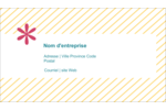 Lignes jaunes Carte d'affaire - gabarit prédéfini. <br/>Utilisez notre logiciel Avery Design & Print Online pour personnaliser facilement la conception.