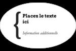 Accolade Étiquettes carrées - gabarit prédéfini. <br/>Utilisez notre logiciel Avery Design & Print Online pour personnaliser facilement la conception.