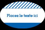 Typographie Étiquettes carrées - gabarit prédéfini. <br/>Utilisez notre logiciel Avery Design & Print Online pour personnaliser facilement la conception.
