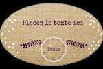 Toile à frange Étiquettes carrées - gabarit prédéfini. <br/>Utilisez notre logiciel Avery Design & Print Online pour personnaliser facilement la conception.