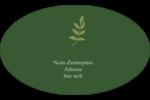 Rameau d'olivier  Étiquettes carrées - gabarit prédéfini. <br/>Utilisez notre logiciel Avery Design & Print Online pour personnaliser facilement la conception.