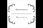 Le mariage fantaisiste de Martha Stewart Étiquettes carrées - gabarit prédéfini. <br/>Utilisez notre logiciel Avery Design & Print Online pour personnaliser facilement la conception.