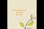 Illustrations florales Étiquettes carrées - gabarit prédéfini. <br/>Utilisez notre logiciel Avery Design & Print Online pour personnaliser facilement la conception.
