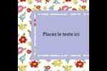 Fleurs printanières Étiquettes rondes - gabarit prédéfini. <br/>Utilisez notre logiciel Avery Design & Print Online pour personnaliser facilement la conception.