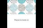Cercles urbains bleus Étiquettes enveloppantes - gabarit prédéfini. <br/>Utilisez notre logiciel Avery Design & Print Online pour personnaliser facilement la conception.