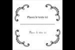 Le mariage fantaisiste de Martha Stewart Étiquettes enveloppantes - gabarit prédéfini. <br/>Utilisez notre logiciel Avery Design & Print Online pour personnaliser facilement la conception.