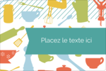 Articles de cuisine Étiquettes rectangulaires - gabarit prédéfini. <br/>Utilisez notre logiciel Avery Design & Print Online pour personnaliser facilement la conception.