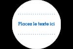 Typographie Étiquettes arrondies - gabarit prédéfini. <br/>Utilisez notre logiciel Avery Design & Print Online pour personnaliser facilement la conception.