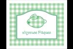 Lapin d'Écosse Étiquettes rectangulaires - gabarit prédéfini. <br/>Utilisez notre logiciel Avery Design & Print Online pour personnaliser facilement la conception.