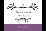 Filigrane violet Étiquettes rondes gaufrées - gabarit prédéfini. <br/>Utilisez notre logiciel Avery Design & Print Online pour personnaliser facilement la conception.