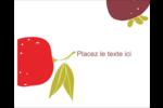 Fruits rétro Étiquettes rondes gaufrées - gabarit prédéfini. <br/>Utilisez notre logiciel Avery Design & Print Online pour personnaliser facilement la conception.
