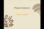 Illustrations florales Étiquettes rondes gaufrées - gabarit prédéfini. <br/>Utilisez notre logiciel Avery Design & Print Online pour personnaliser facilement la conception.