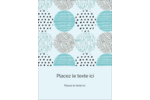 Cercles urbains bleus Étiquettes rondes - gabarit prédéfini. <br/>Utilisez notre logiciel Avery Design & Print Online pour personnaliser facilement la conception.
