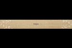 Toile à frange Étiquettes ovales - gabarit prédéfini. <br/>Utilisez notre logiciel Avery Design & Print Online pour personnaliser facilement la conception.