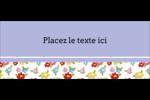 Fleurs printanières Affichette - gabarit prédéfini. <br/>Utilisez notre logiciel Avery Design & Print Online pour personnaliser facilement la conception.