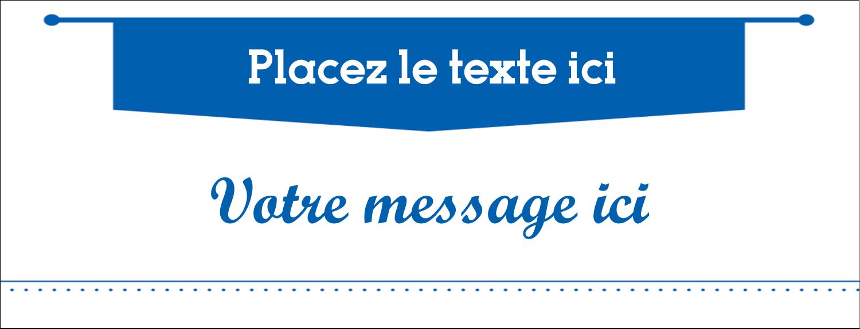 Typographie Affichette - gabarit prédéfini. <br/>Utilisez notre logiciel Avery Design & Print Online pour personnaliser facilement la conception.
