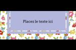 Fleurs printanières Étiquettes D'Adresse - gabarit prédéfini. <br/>Utilisez notre logiciel Avery Design & Print Online pour personnaliser facilement la conception.