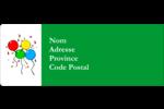 Quatre ballons Étiquettes D'Adresse - gabarit prédéfini. <br/>Utilisez notre logiciel Avery Design & Print Online pour personnaliser facilement la conception.
