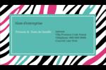Empreintes d'animaux Carte d'affaire - gabarit prédéfini. <br/>Utilisez notre logiciel Avery Design & Print Online pour personnaliser facilement la conception.
