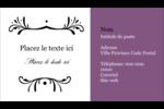 Filigrane violet Carte d'affaire - gabarit prédéfini. <br/>Utilisez notre logiciel Avery Design & Print Online pour personnaliser facilement la conception.