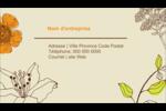 Illustrations florales Carte d'affaire - gabarit prédéfini. <br/>Utilisez notre logiciel Avery Design & Print Online pour personnaliser facilement la conception.