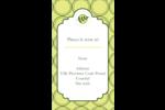 Rameau d'olivier  Carte d'affaire - gabarit prédéfini. <br/>Utilisez notre logiciel Avery Design & Print Online pour personnaliser facilement la conception.