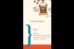 Café classique Carte d'affaire - gabarit prédéfini. <br/>Utilisez notre logiciel Avery Design & Print Online pour personnaliser facilement la conception.