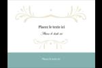 Filigrane vert Cartes Pour Le Bureau - gabarit prédéfini. <br/>Utilisez notre logiciel Avery Design & Print Online pour personnaliser facilement la conception.