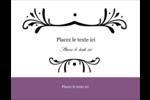 Filigrane violet Cartes Pour Le Bureau - gabarit prédéfini. <br/>Utilisez notre logiciel Avery Design & Print Online pour personnaliser facilement la conception.