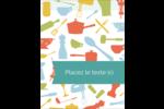 Articles de cuisine Carte Postale - gabarit prédéfini. <br/>Utilisez notre logiciel Avery Design & Print Online pour personnaliser facilement la conception.