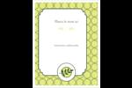 Rameau d'olivier  Carte Postale - gabarit prédéfini. <br/>Utilisez notre logiciel Avery Design & Print Online pour personnaliser facilement la conception.