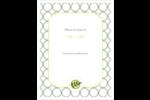 Rameau d'olivier simple Carte Postale - gabarit prédéfini. <br/>Utilisez notre logiciel Avery Design & Print Online pour personnaliser facilement la conception.