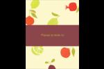 Fruits rétro Carte Postale - gabarit prédéfini. <br/>Utilisez notre logiciel Avery Design & Print Online pour personnaliser facilement la conception.