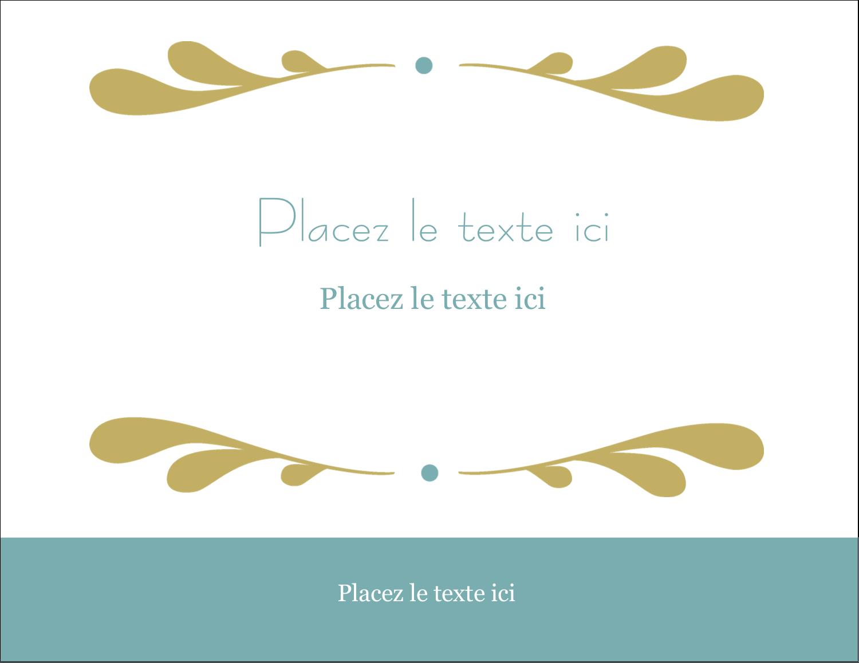"4¼"" X 5½"" Carte Postale - Filigrane"