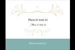 Filigrane vert Carte Postale - gabarit prédéfini. <br/>Utilisez notre logiciel Avery Design & Print Online pour personnaliser facilement la conception.