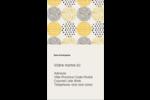 Cercles urbains jaunes Carte d'affaire - gabarit prédéfini. <br/>Utilisez notre logiciel Avery Design & Print Online pour personnaliser facilement la conception.