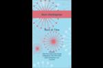 Célébration simple Carte d'affaire - gabarit prédéfini. <br/>Utilisez notre logiciel Avery Design & Print Online pour personnaliser facilement la conception.
